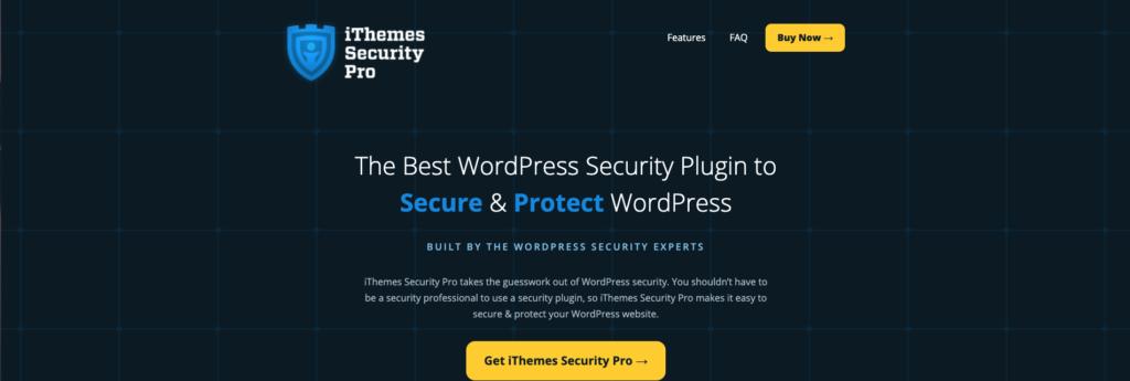 imagen de itheme security plugin de seguridad, esencial para WordPress