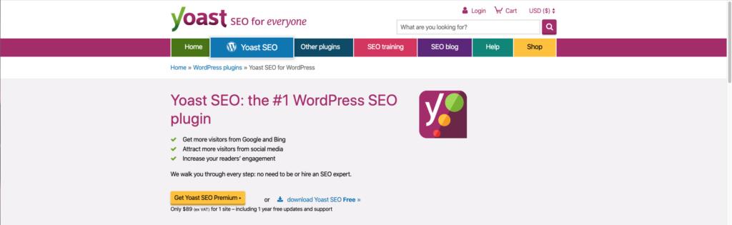 imagen de Yoast SEO plugin esencial para WordPress