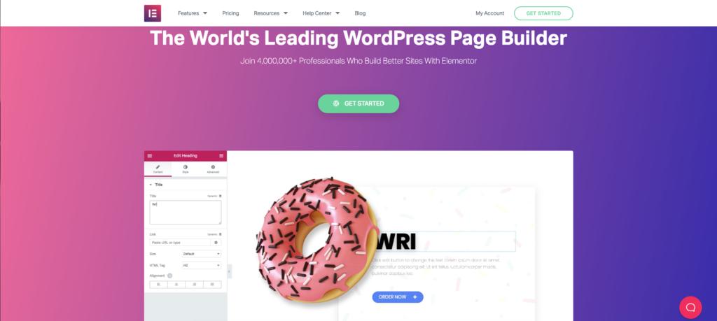 imagen de Elementor maquetador visual, plugin esencial para WordPress