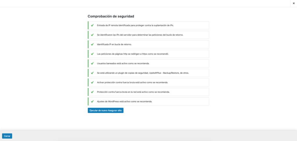 imagen itheme security configuración