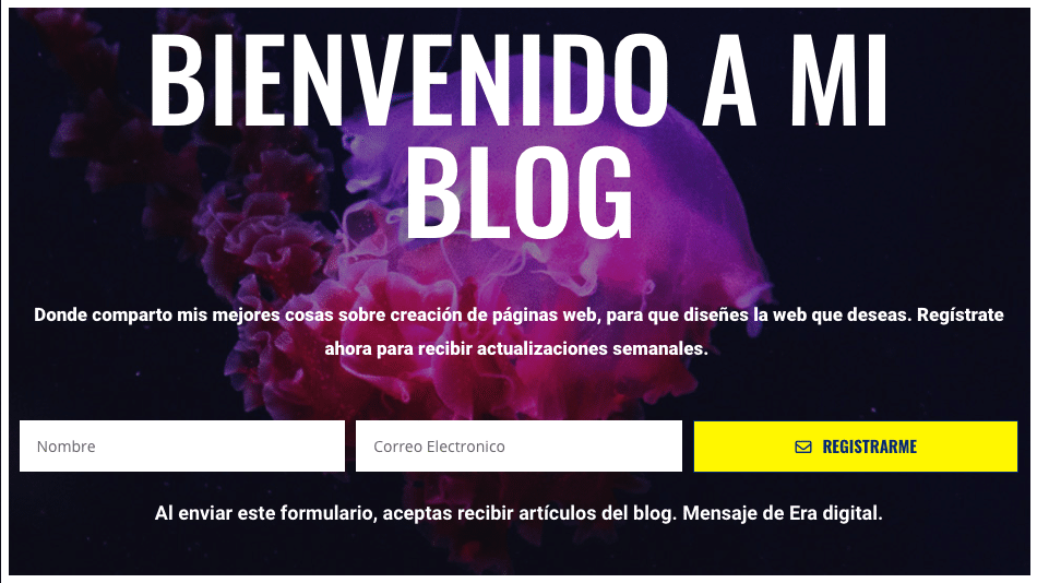 Imagen Email Marketing en el blog