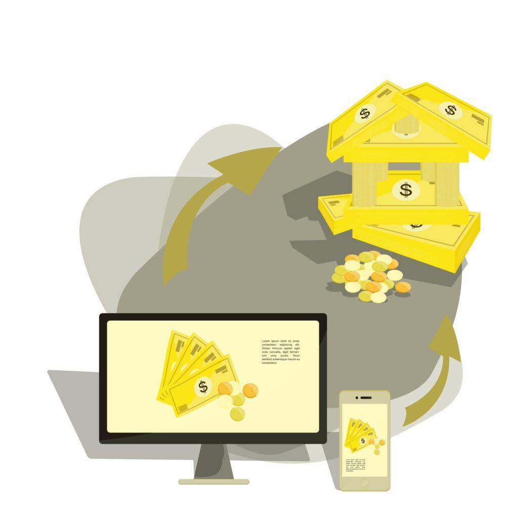 Imagen entrada como ganar dinero con un blog